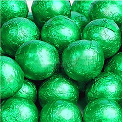 Green Chocolate Balls - 25pk
