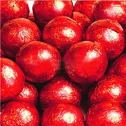 Red Chocolate Balls - 25pk
