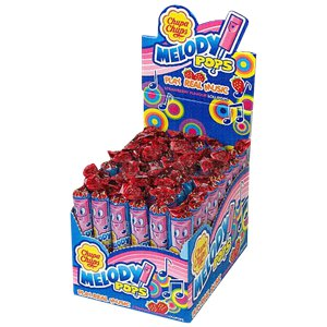 Chupa Chups Strawberry Melody Pops