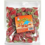 Yummy Gummy Fizzy Strawberry 1kg Bulk Bag
