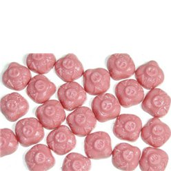 Hannah Pink Chocolate Pigs 3kg Bulk Bag