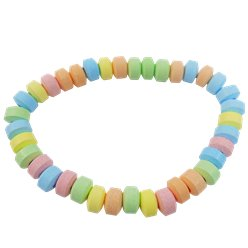 Candy Necklace - Fruit Flavour