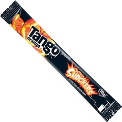 Tango Orange Shockers Sour Fizz Chew Bar
