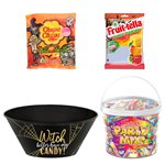 Witch Plastic Candy Bowl Sweets Kit
