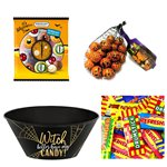 Witch Plastic Candy Bowl Chocolate & Sweets Kit