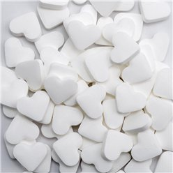 White Heart Sugarfree Mints - 1kg Bulk Bag