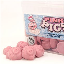 Pink Chocolate Pigs Tub