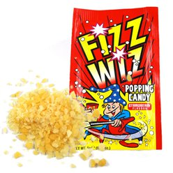 Strawberry Fizz Wizz Popping Candy