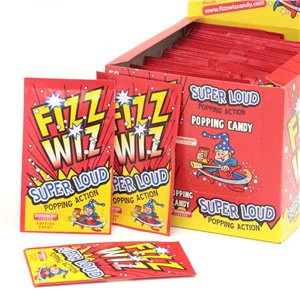 Strawberry Fizz Wizz Popping Candy Bulk Box