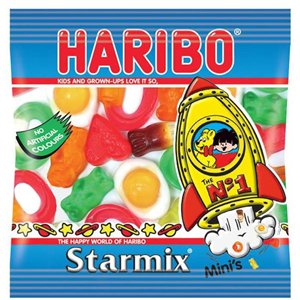 Haribo Mini Star Mix Mini Bags Bulk Box