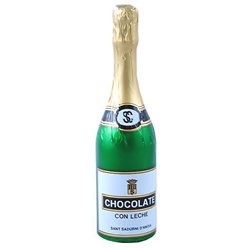 Chocolate Champagne Bottle