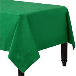Green Tablecover - Paper - 90cm x 90cm