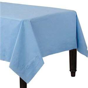 Baby Blue Tablecover - Paper - 90cm x 90cm