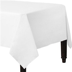 White Tablecover - Paper - 90cm x 90cm