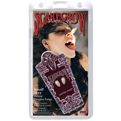 Vampire Teeth Love Bite Fangs - Adult Halloween Accessory front