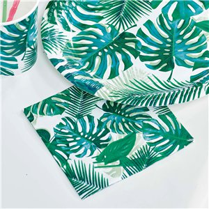 Tropical Fiesta Palm Cocktail Napkins