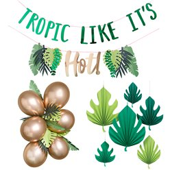 Tropical Fiesta Decorating Kit