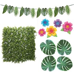 Tropical Fiesta Foliage Wall Kit - 2m