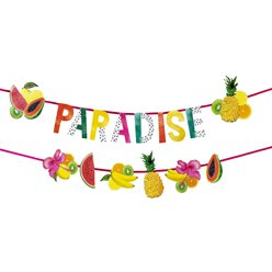 Tropical Fiesta Paradise Fruit Double Layered Garland