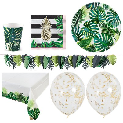 Tropical Fiesta Party Pack - Deluxe Pack For 16