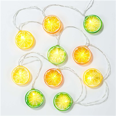 Tropical Fiesta Fruit Slice String lights - 1.5m with Presentation Jar