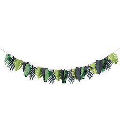 Tropical Leaf Paper Garland - 2m