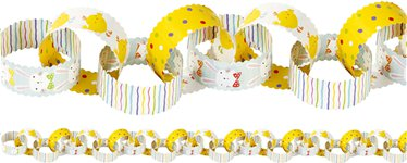 The Great Egg Hunt Paper Chains - 10m