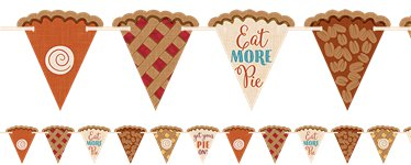 Thanksgiving Pie Bunting