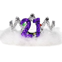 21st Flashing Birthday Tiara