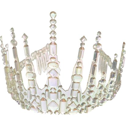 Icicle Crown - Princess Fancy Dress Accessories front