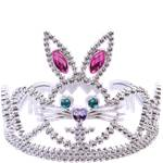 Silver Bunny Tiara - Easter Bunny - Princess - Alice in Wonderland