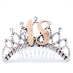 18th Rose Gold Tiara