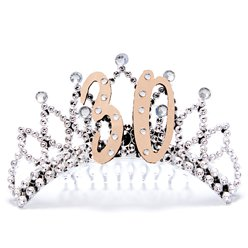 30th Rose Gold Tiara