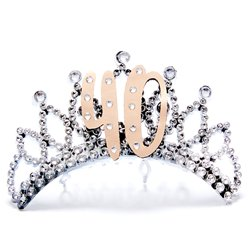 40th Rose Gold Tiara