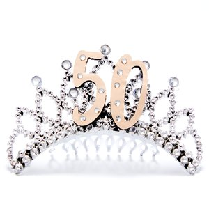 50th Rose Gold Tiara