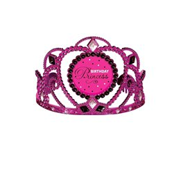 Black & Pink Birthday Princess Tiara
