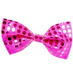 Bow Tie - Pink Sequin Fancy Dress