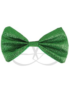 St Patrick's Day Glitter Bow Tie