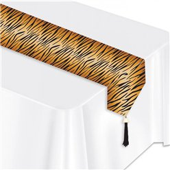 Tiger Print Table Runner - 1.8m