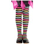 Spot Witch Striped Tights - 3-5 Years