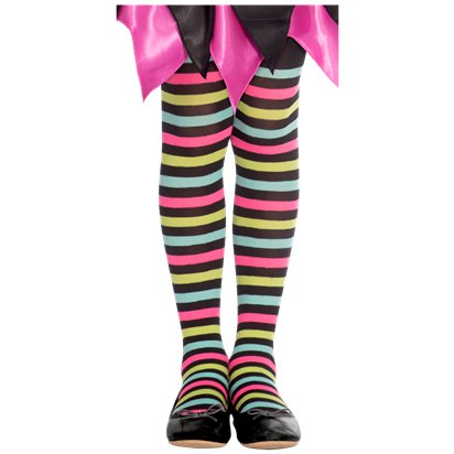 Miss Match Witch Tights - 6-8 years front