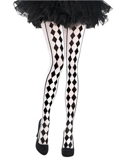 Harlequin Tights - Adult One Size
