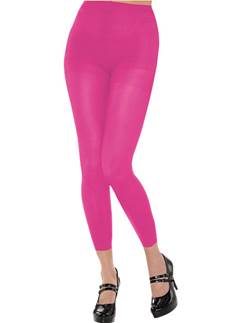 Pink Footless Tights - Adult Size 10-14
