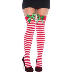 Festive Thigh High Stockings