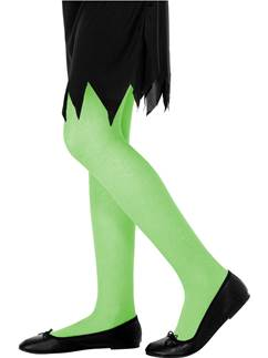 Childrens Green Tights - Age 11-14