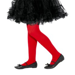 Red Tights - Child 4-6 Years