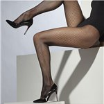 Ladies Fishnet Tights Black One Size