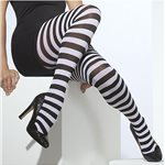 Black & White Striped - Adult Size 10-14