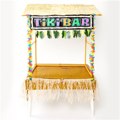 Tiki Bar Deluxe Decorating Kit
