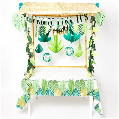Deluxe Tropical Tiki Bar Kit